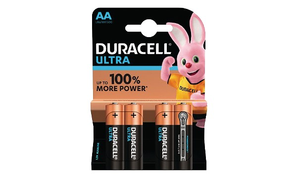Pile AA 1,5V Duracell Ultra Power Blister de 4 MX1500B4