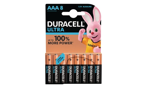 Pile AAA 1,5V Duracell Ultra Power Blister de 8 MX2400B8