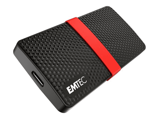 HDEE EMTEC SSD Externe X200 1To USB3.1 Mini (dont Taxes 6.00€HT)