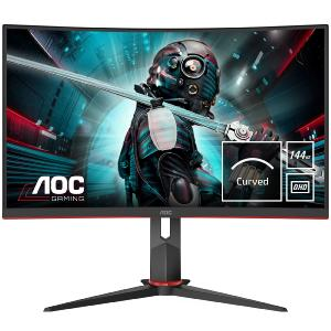 "Moniteur AOC 27"" CQ27G2U/BK Incurvé QHD IPS 1ms 144Hz HP VGA/HDMI/DisplayPort"