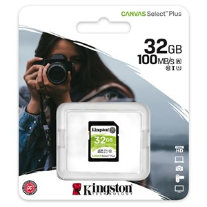 SDCard Kingston 32 Gb SDHC (dont Taxes 1.93€HT)