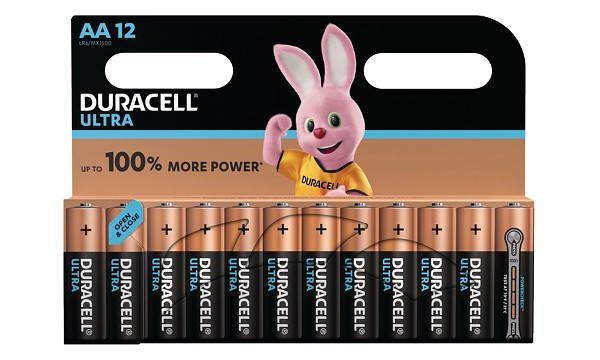 Pile AA 1,5V Duracell Ultra Power Blister de 12 MX1500B12